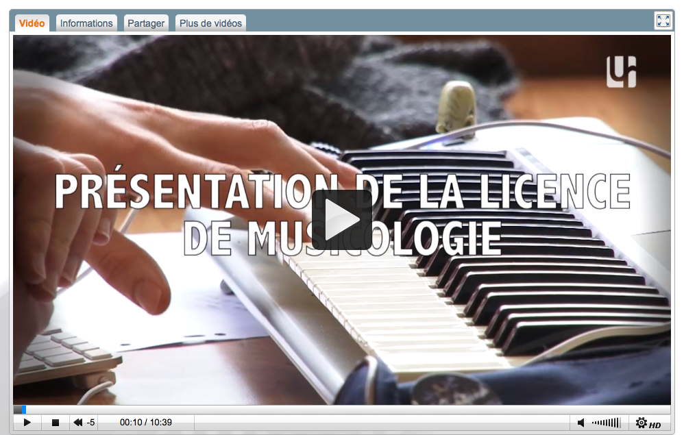 Video Musicologie